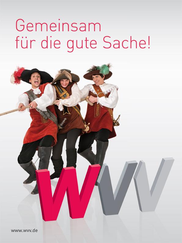 "WVV Kampagne ""3 Musktetiere"""